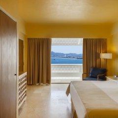 Отель Fiesta Americana Acapulco Villas 4* Люкс с различными типами кроватей фото 8