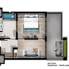 Отель Mai Khao Lak Beach Resort & Spa 4* Люкс повышенной комфортности с различными типами кроватей фото 2