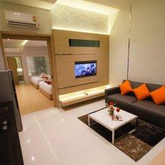 Platinum Hotel 3* Улучшенные апартаменты разные типы кроватей фото 5