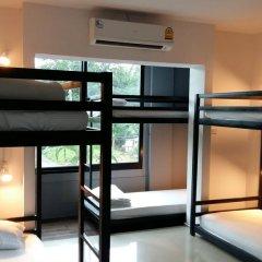 M Hostel Lanta Кровать в общем номере с двухъярусной кроватью