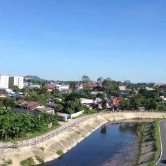 Апартаменты Modernbright Service Apartment Бангламунг приотельная территория