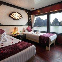 Отель Halong Aclass Legend Cruise 3* Номер Делюкс с различными типами кроватей фото 4