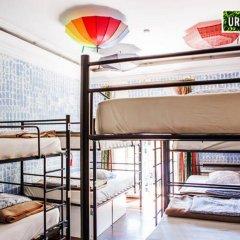 Urban Garden Hostel Кровать в общем номере с двухъярусной кроватью фото 4