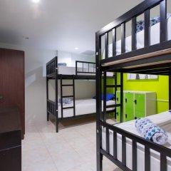 Отель Cool Sea House 2* Кровать в общем номере двухъярусные кровати фото 7