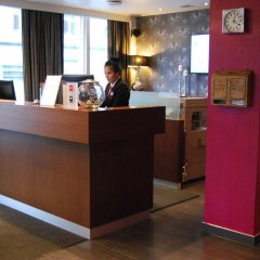 Thon Hotel Backlund интерьер отеля