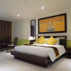 Отель Villa Hue 3* Улучшенный номер с различными типами кроватей фото 3