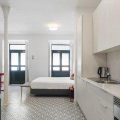 Апартаменты Lisbon Serviced Apartments - Castelo S. Jorge Студия с различными типами кроватей фото 3