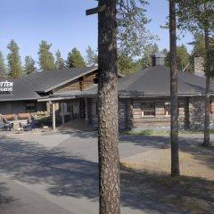 Отель Nordkalotten Hotell & Konferens парковка