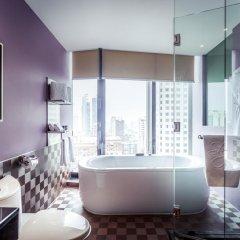 Отель The Continent Bangkok by Compass Hospitality 4* Номер категории Премиум с различными типами кроватей фото 19