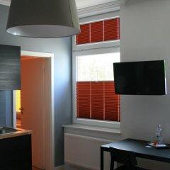 Отель Apartmenthaus Unterwegs 4* Стандартный номер с различными типами кроватей фото 9