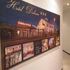 Hotel Dulcinea Альмендралехо интерьер отеля