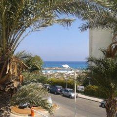 Отель Pallini Court пляж