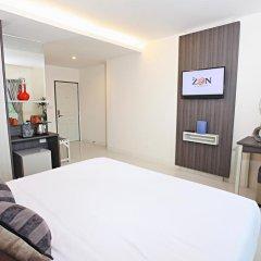 The Zen Hotel Pattaya 3* Номер Делюкс с различными типами кроватей фото 3