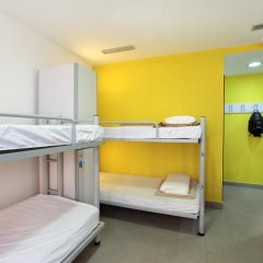 Center Valencia Youth Hostel Кровать в общем номере с двухъярусной кроватью фото 14