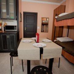Мини-Отель Новый День Стандартный семейный номер разные типы кроватей (общая ванная комната) фото 7
