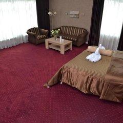 Гостиница Ajur 3* Люкс двуспальная кровать фото 13