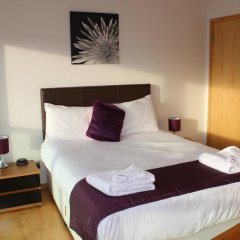 Отель Glasgow Lofts Апартаменты с различными типами кроватей