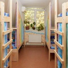 Хостел В центре Кровать в общем номере фото 15
