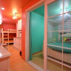 Отель Han River Guesthouse 2* Семейная студия с двуспальной кроватью фото 22