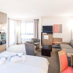 Отель Novotel Lyon Centre Part Dieu 4* Улучшенный номер с различными типами кроватей фото 4