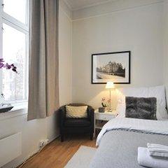 Отель Ellingsens Pensjonat 3* Стандартный номер с различными типами кроватей (общая ванная комната) фото 2