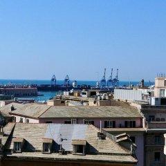 Отель Vittoria And Orlandini Генуя балкон