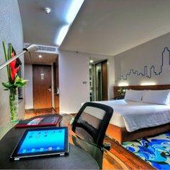 Отель Galleria 10 Sukhumvit Bangkok by Compass Hospitality 4* Стандартный номер с различными типами кроватей фото 2