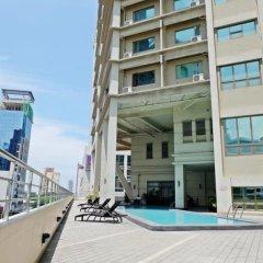 Mandarin Plaza Hotel балкон