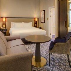 Отель Hilton London Euston 4* Улучшенный номер с различными типами кроватей фото 2