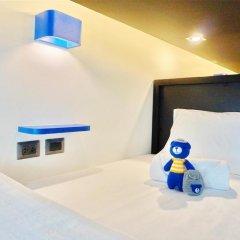 BearPacker Patong Hostel Номер Делюкс с различными типами кроватей фото 11