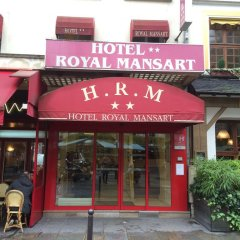 Отель Royal Mansart Франция, Париж - 14 отзывов об отеле, цены и фото номеров - забронировать отель Royal Mansart онлайн вид на фасад фото 2