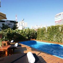 Отель Hi Residence Bangkok Таиланд, Бангкок - отзывы, цены и фото номеров - забронировать отель Hi Residence Bangkok онлайн бассейн фото 3