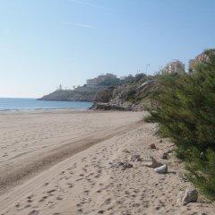 Отель Aparthotel El Faro пляж