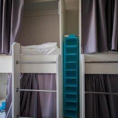 Хостел География Казань Кровать в общем номере двухъярусные кровати фото 24