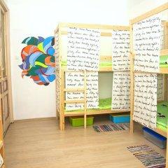 Гостиница Hostels Rus Kitay Gorod Кровать в общем номере двухъярусные кровати фото 5