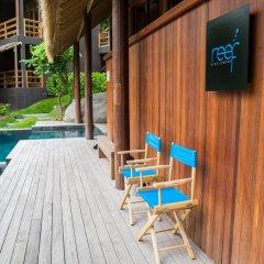 Отель Haadtien Beach Resort балкон