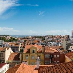 Отель Great view in central Lisbon балкон