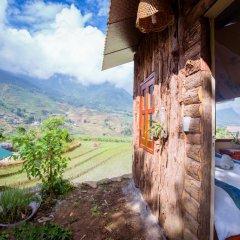Отель Hoang Kim Homestay Шапа балкон