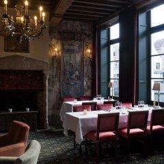 Отель Le Duc De Bourgogne Брюгге помещение для мероприятий фото 2
