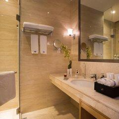 Отель Hangzhou Hua Chen International 4* Улучшенный номер с различными типами кроватей фото 13