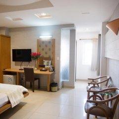 Thuy Sakura Hotel & Serviced Apartment 3* Номер Делюкс с различными типами кроватей фото 6