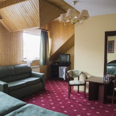 Гостиница Перлына Карпат 3* Семейный полулюкс с двуспальной кроватью фото 4