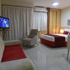 Отель Bourbon Vitoria Hotel (Residence) Бразилия, Витория - отзывы, цены и фото номеров - забронировать отель Bourbon Vitoria Hotel (Residence) онлайн комната для гостей фото 5