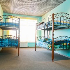Saratovskiy Hostel Кровать в общем номере с двухъярусной кроватью фото 4