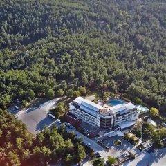 Отель Philippion Beach Салоники приотельная территория