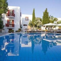 Отель Despotiko Hotel Греция, Миконос - отзывы, цены и фото номеров - забронировать отель Despotiko Hotel онлайн бассейн фото 2