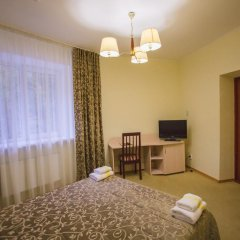 Гостиница Снежный барс Домбай 3* Студия Делюкс с различными типами кроватей фото 8