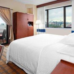 Отель Four Points by Sheraton Long Island City Стандартный номер с различными типами кроватей фото 3