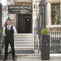 Отель Grand Royale London Hyde Park 4* Номер Делюкс с различными типами кроватей фото 14