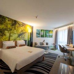 Отель Novotel Muenchen City Мюнхен комната для гостей фото 5